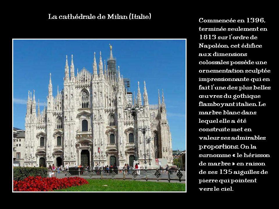 La cathédrale de Milan (Italie)