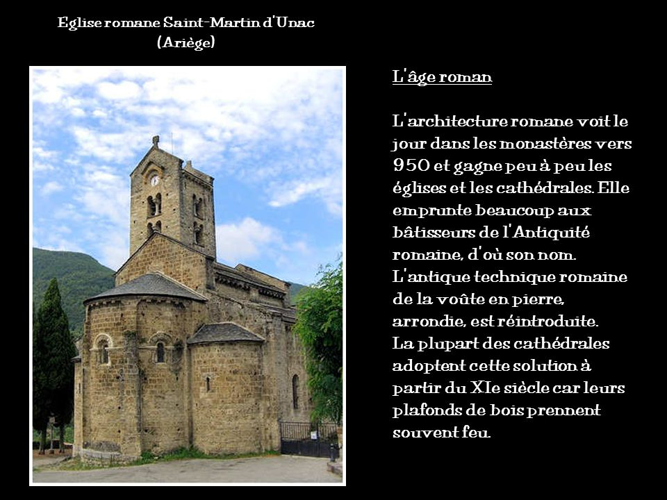 Eglise romane Saint-Martin d'Unac