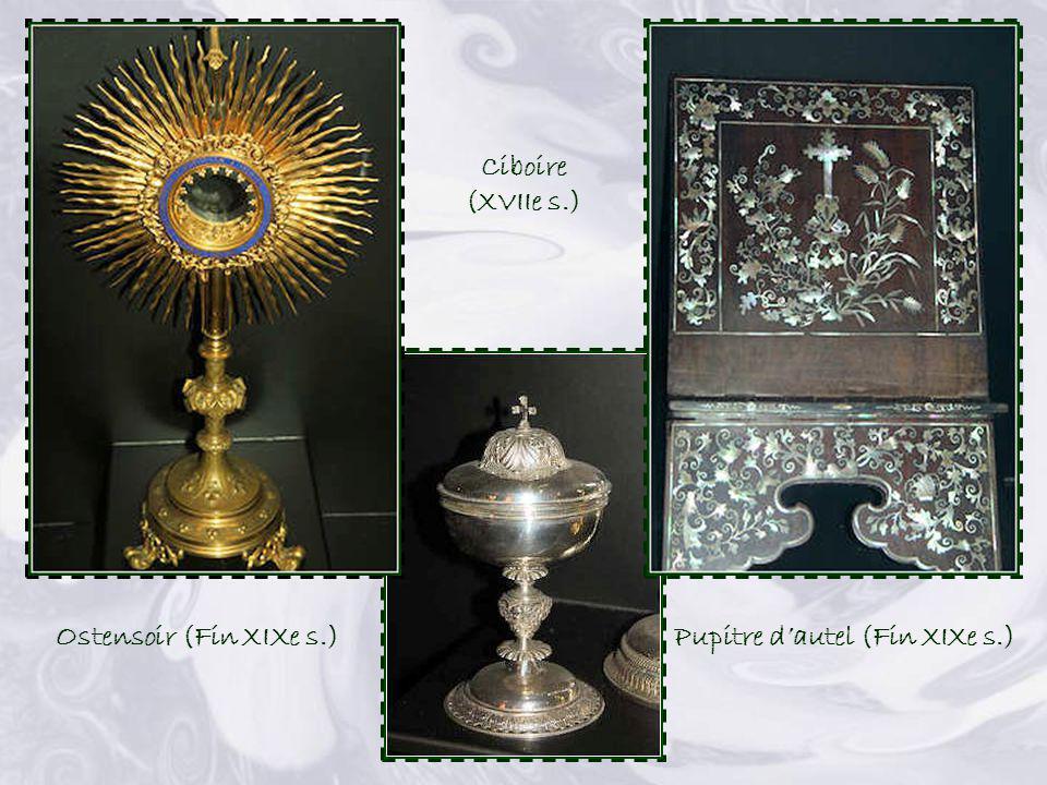 Pupitre d'autel (Fin XIXe s.)