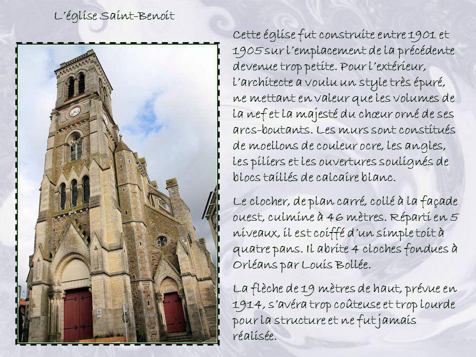 L'église Saint-Benoit
