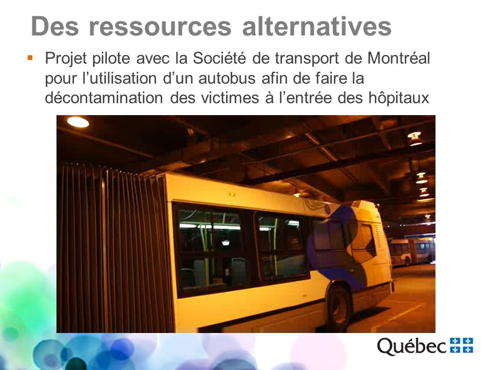Des ressources alternatives