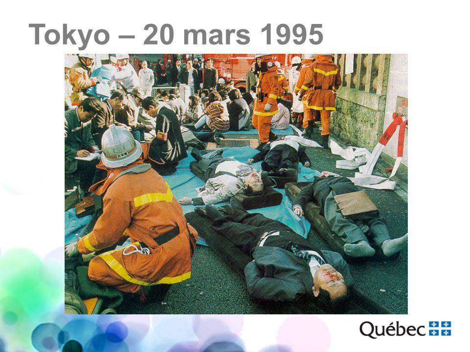 Tokyo – 20 mars 1995