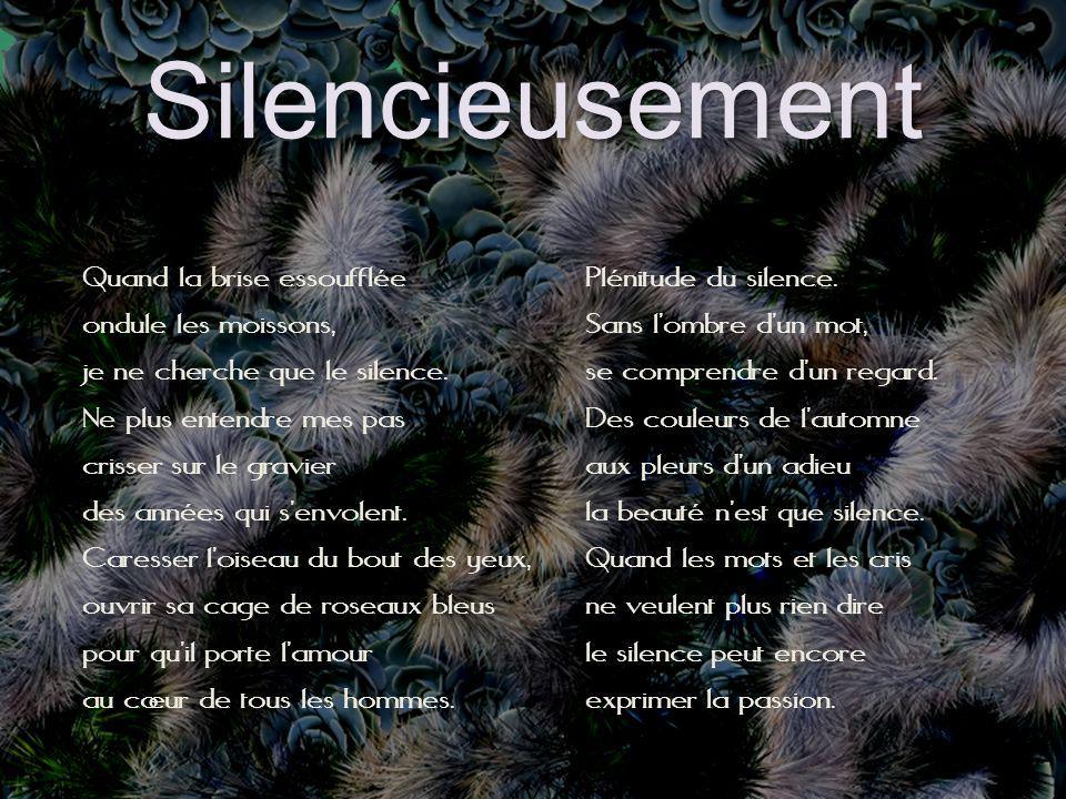 Silencieusement