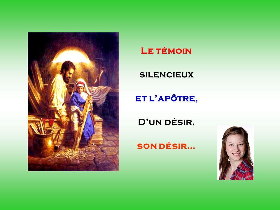 Le témoin silencieux et l'apôtre, D'un désir, son désir… . .