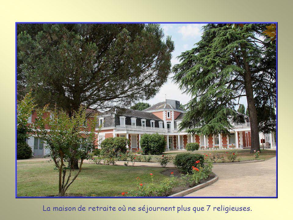 La maison de retraite où ne séjournent plus que 7 religieuses.
