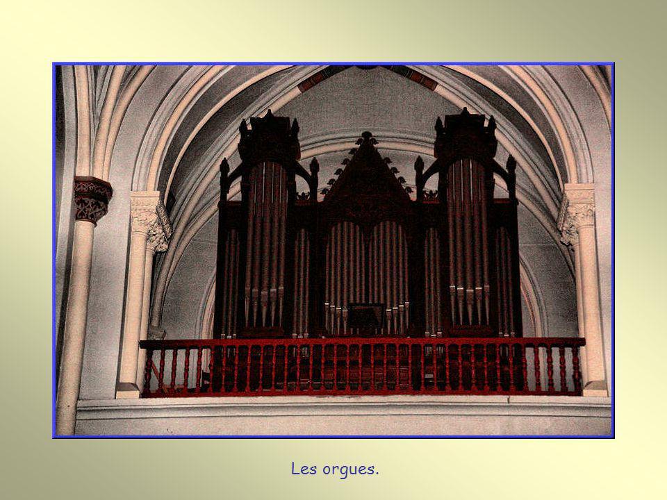 Les orgues.