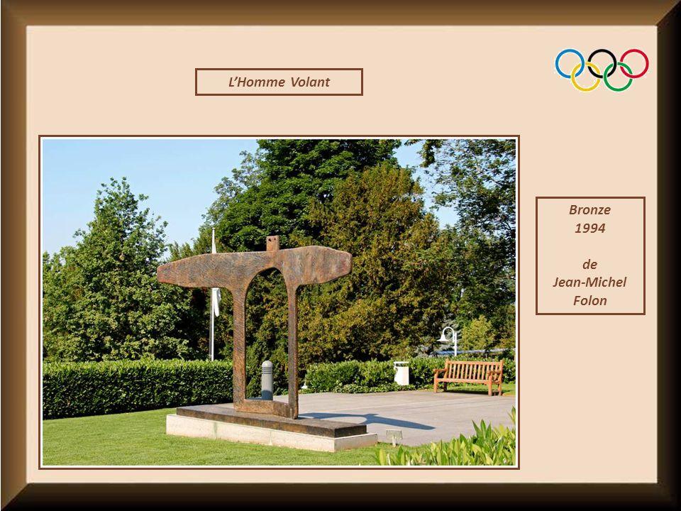 L'Homme Volant Bronze 1994 de Jean-Michel Folon