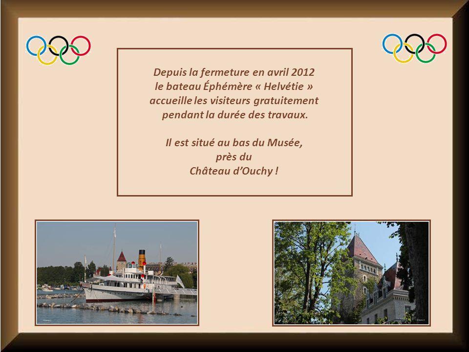 Depuis la fermeture en avril 2012 le bateau Éphémère « Helvétie »