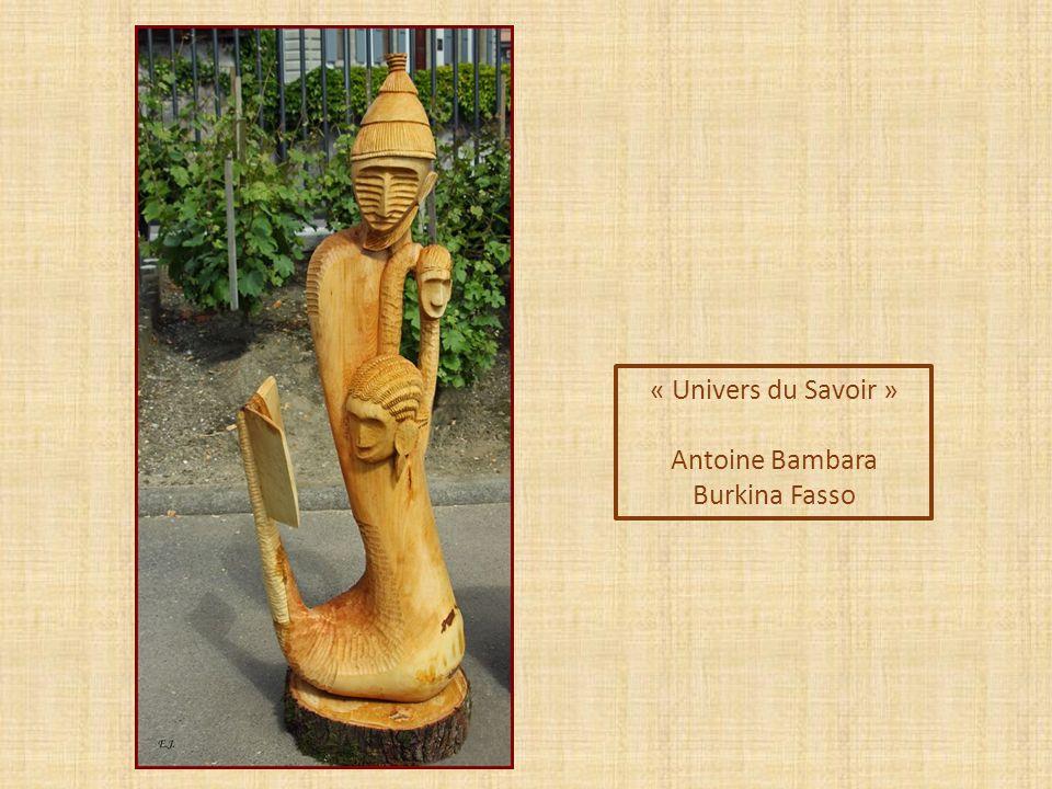 « Univers du Savoir » Antoine Bambara Burkina Fasso