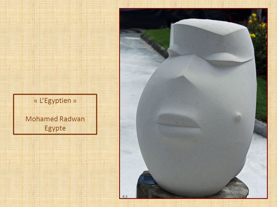 « L'Egyptien » Mohamed Radwan Egypte