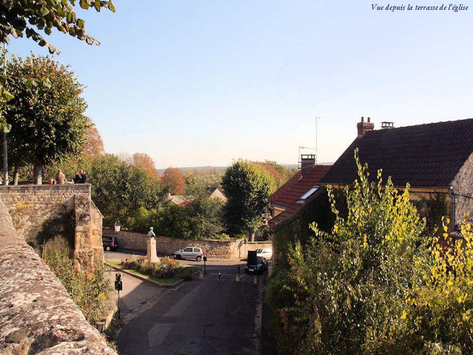 Vue depuis la terrasse de l'église