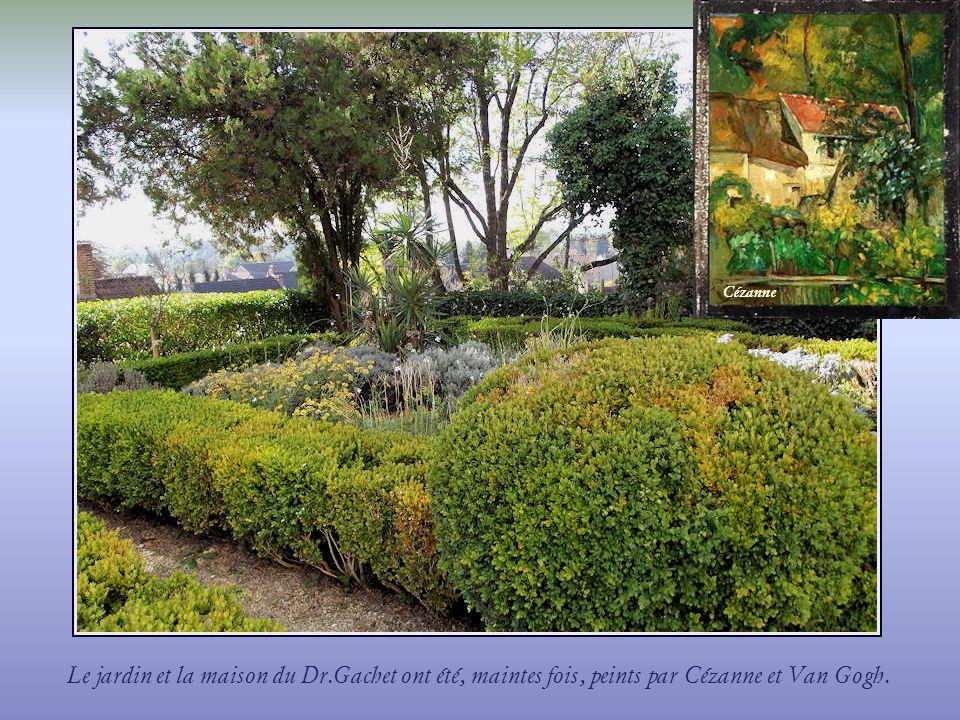 Cézanne Le jardin et la maison du Dr.Gachet ont été, maintes fois, peints par Cézanne et Van Gogh.