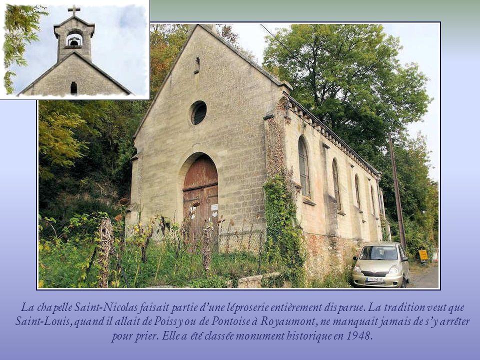 La chapelle Saint-Nicolas faisait partie d'une léproserie entièrement disparue.
