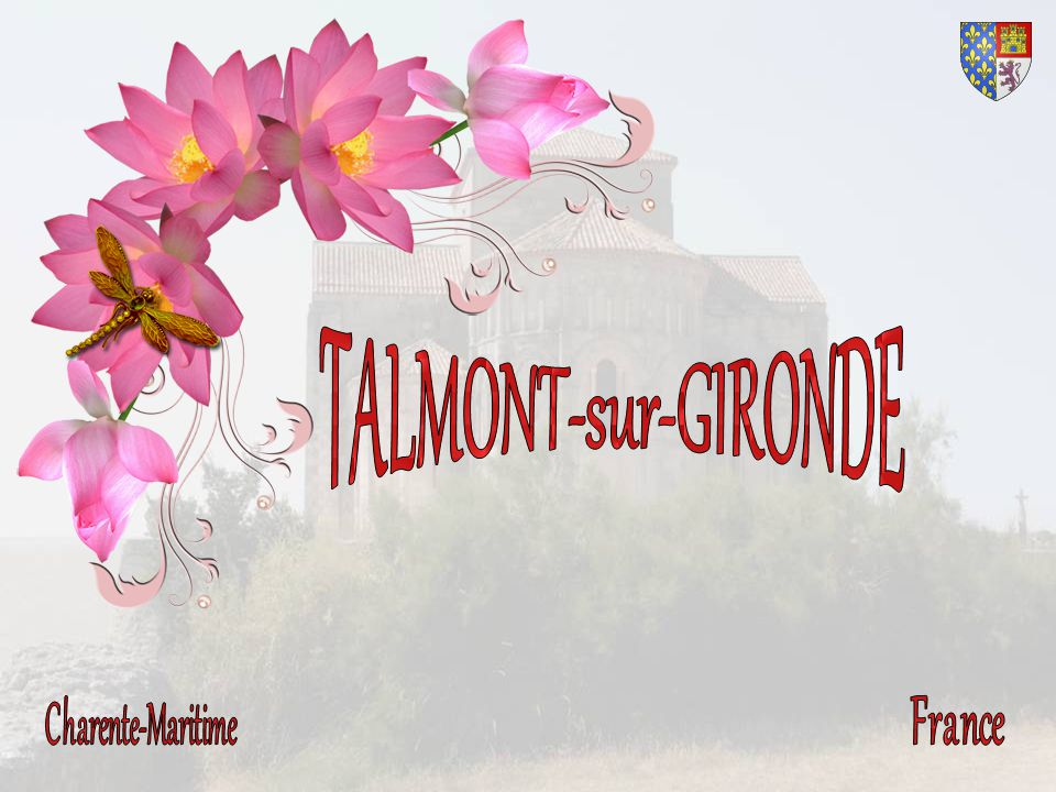 TALMONT-sur-GIRONDE Charente-Maritime France