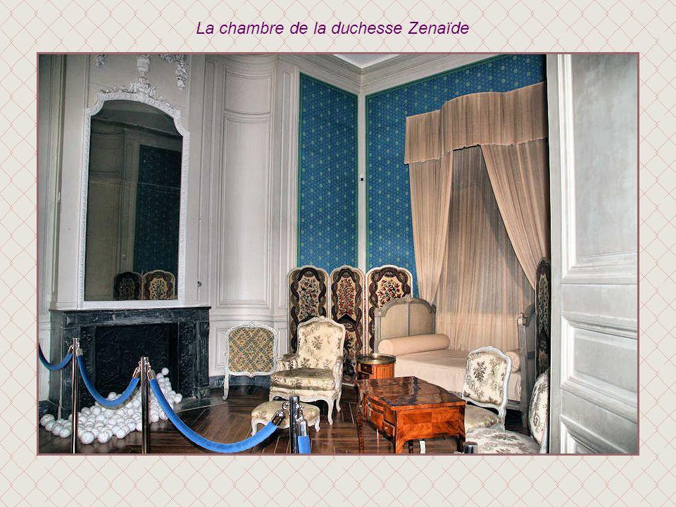 La chambre de la duchesse Zenaïde