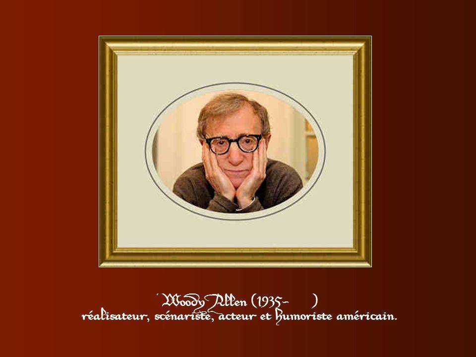réalisateur, scénariste, acteur et humoriste américain.