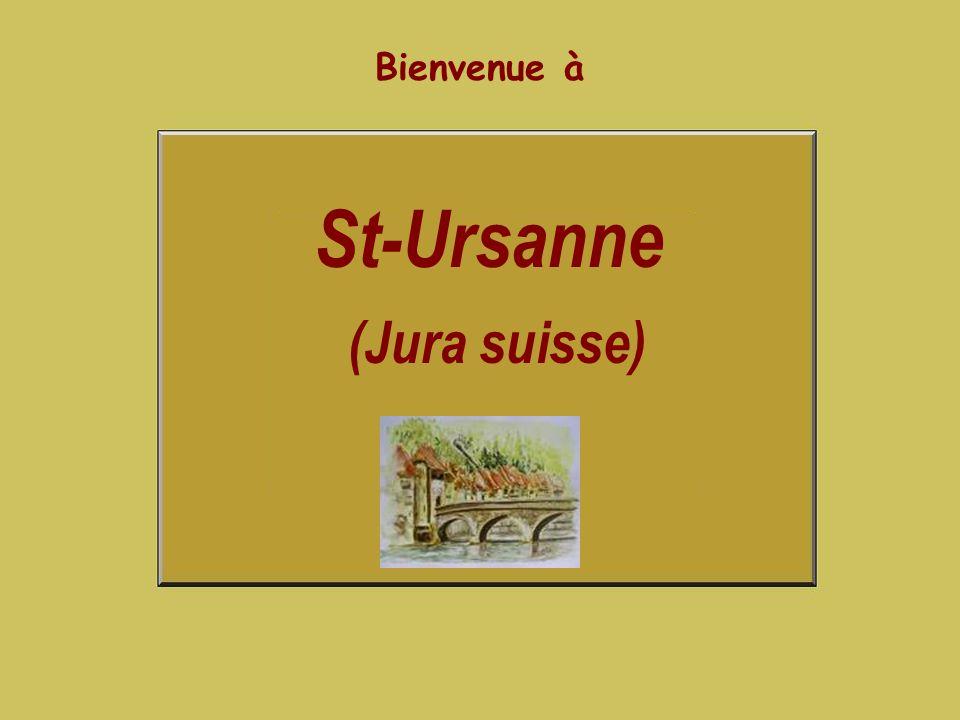 St-Ursanne (Jura suisse)