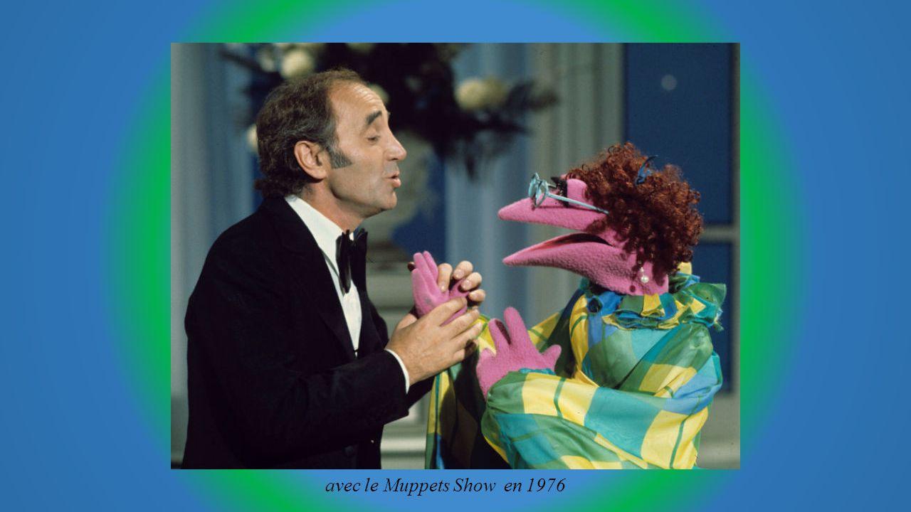 avec le Muppets Show en 1976