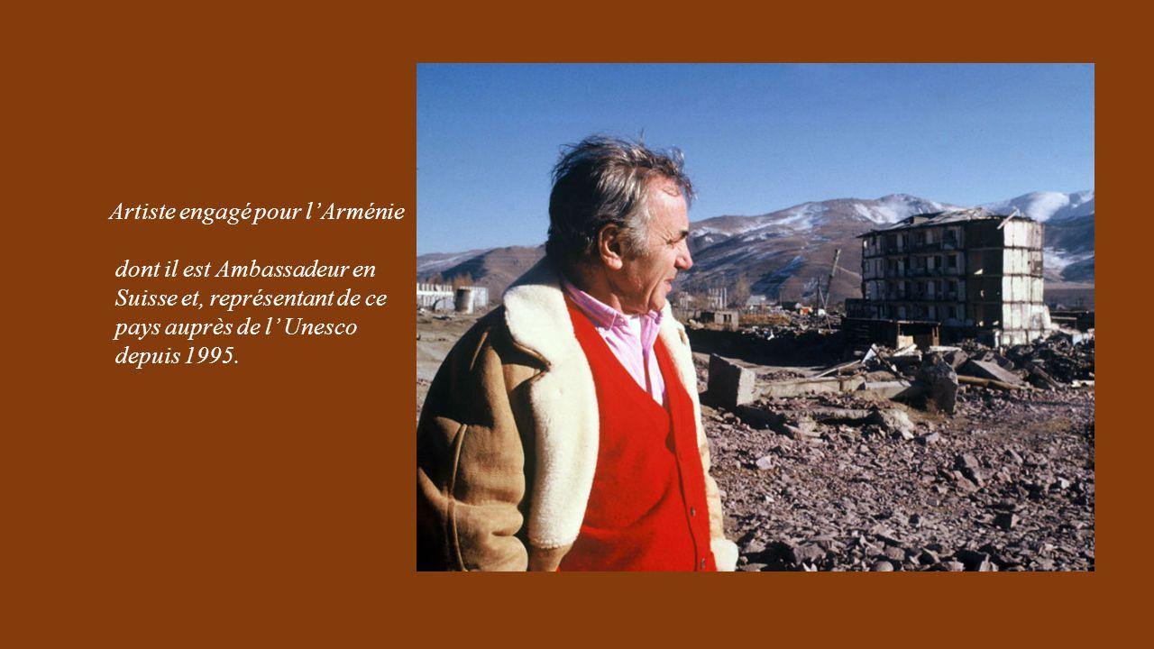 Artiste engagé pour l'Arménie