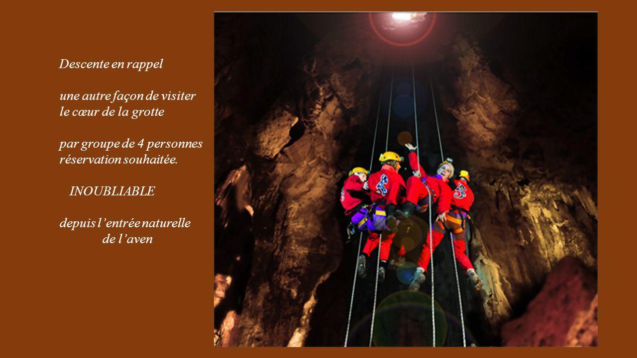 une autre façon de visiter le cœur de la grotte