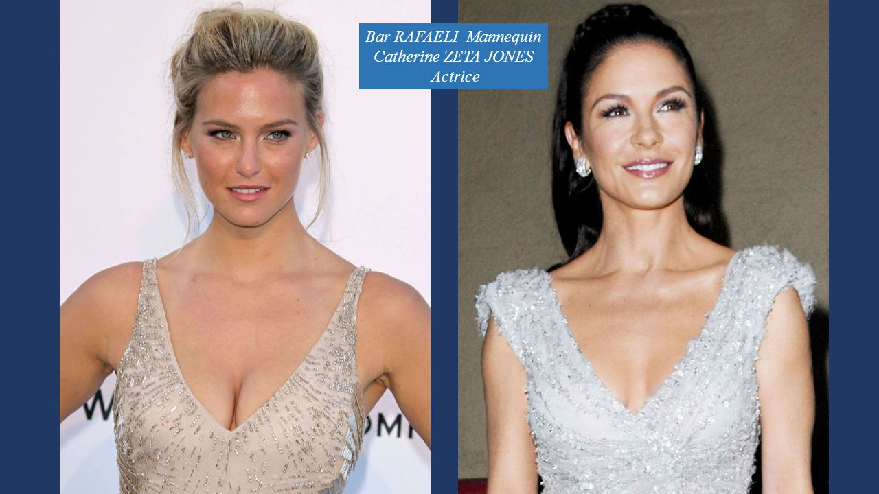 Bar RAFAELI Mannequin Catherine ZETA JONES Actrice