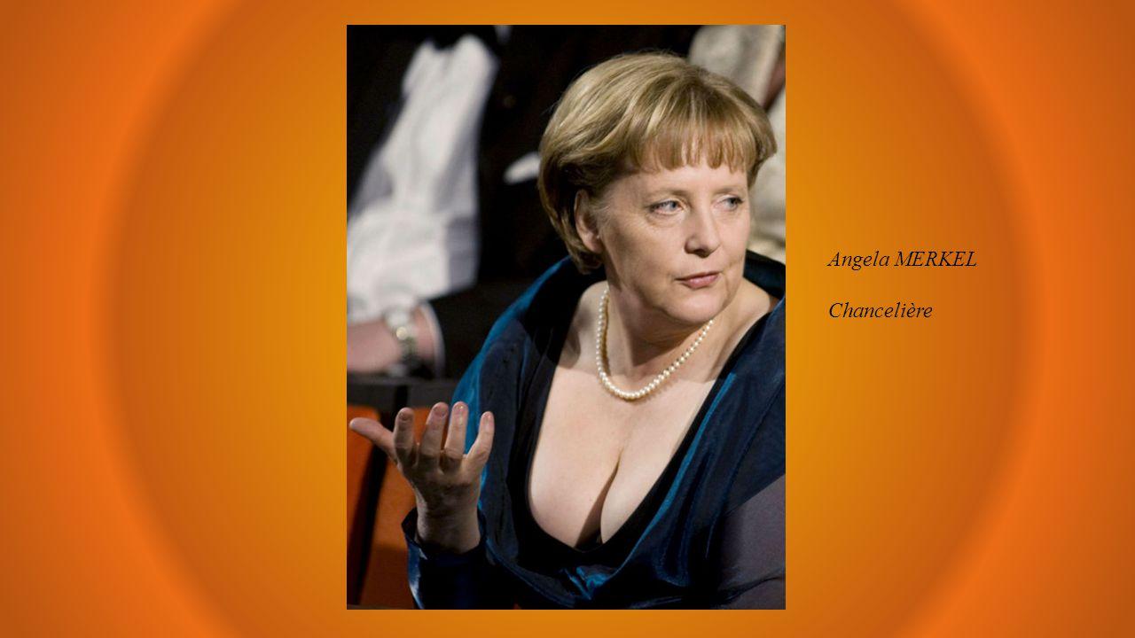 Angela MERKEL Chancelière