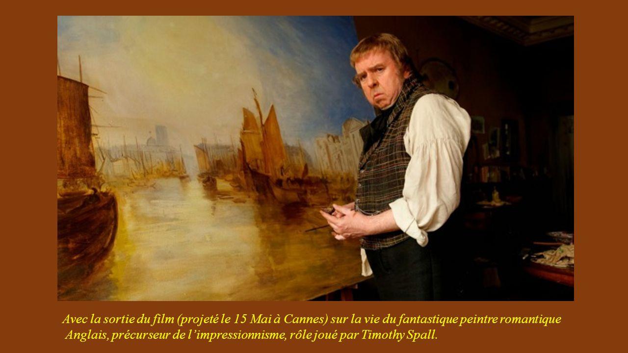 Avec la sortie du film (projeté le 15 Mai à Cannes) sur la vie du fantastique peintre romantique