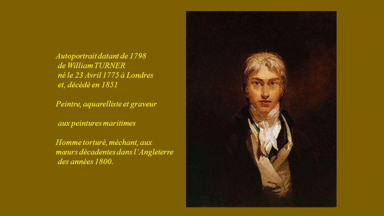 Autoportrait datant de 1798