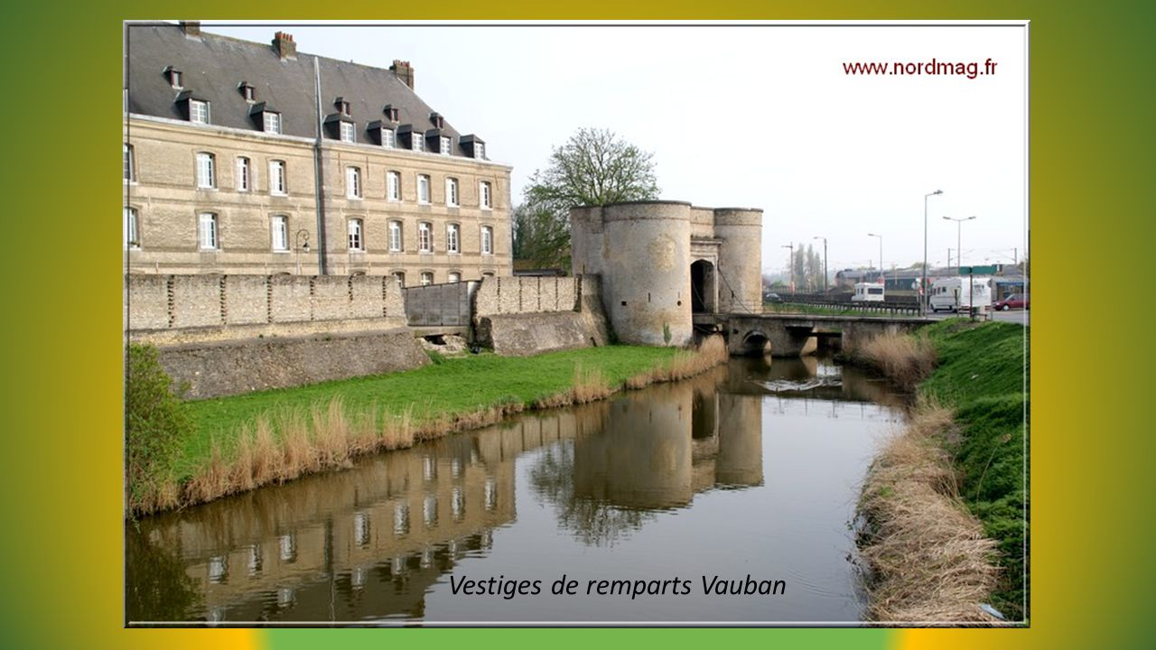 Vestiges de remparts Vauban