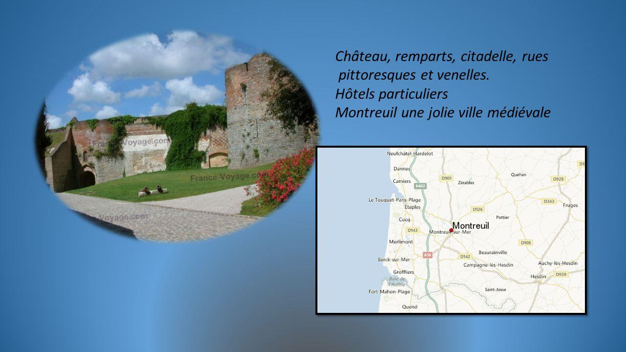 Château, remparts, citadelle, rues