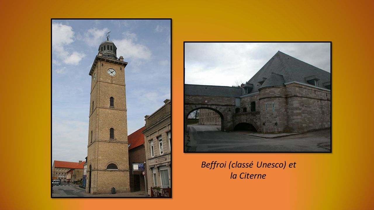 Beffroi (classé Unesco) et
