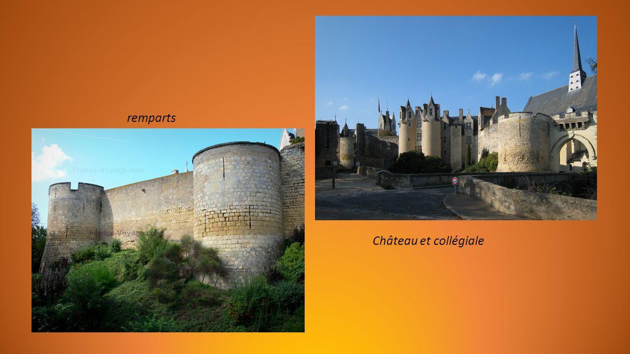 remparts Château et collégiale