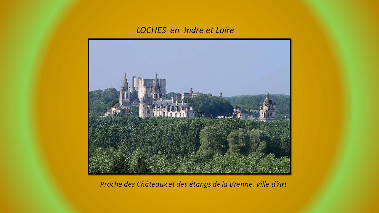 LOCHES en Indre et Loire