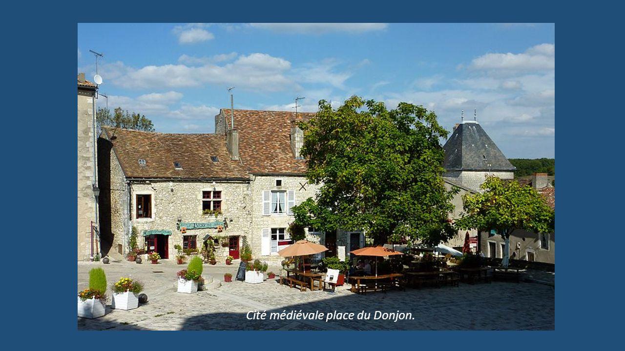 Cité médiévale place du Donjon.