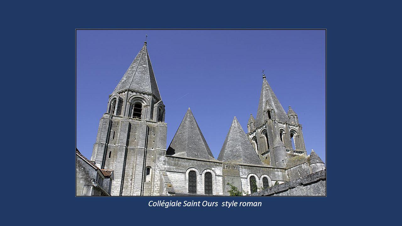 Collégiale Saint Ours style roman