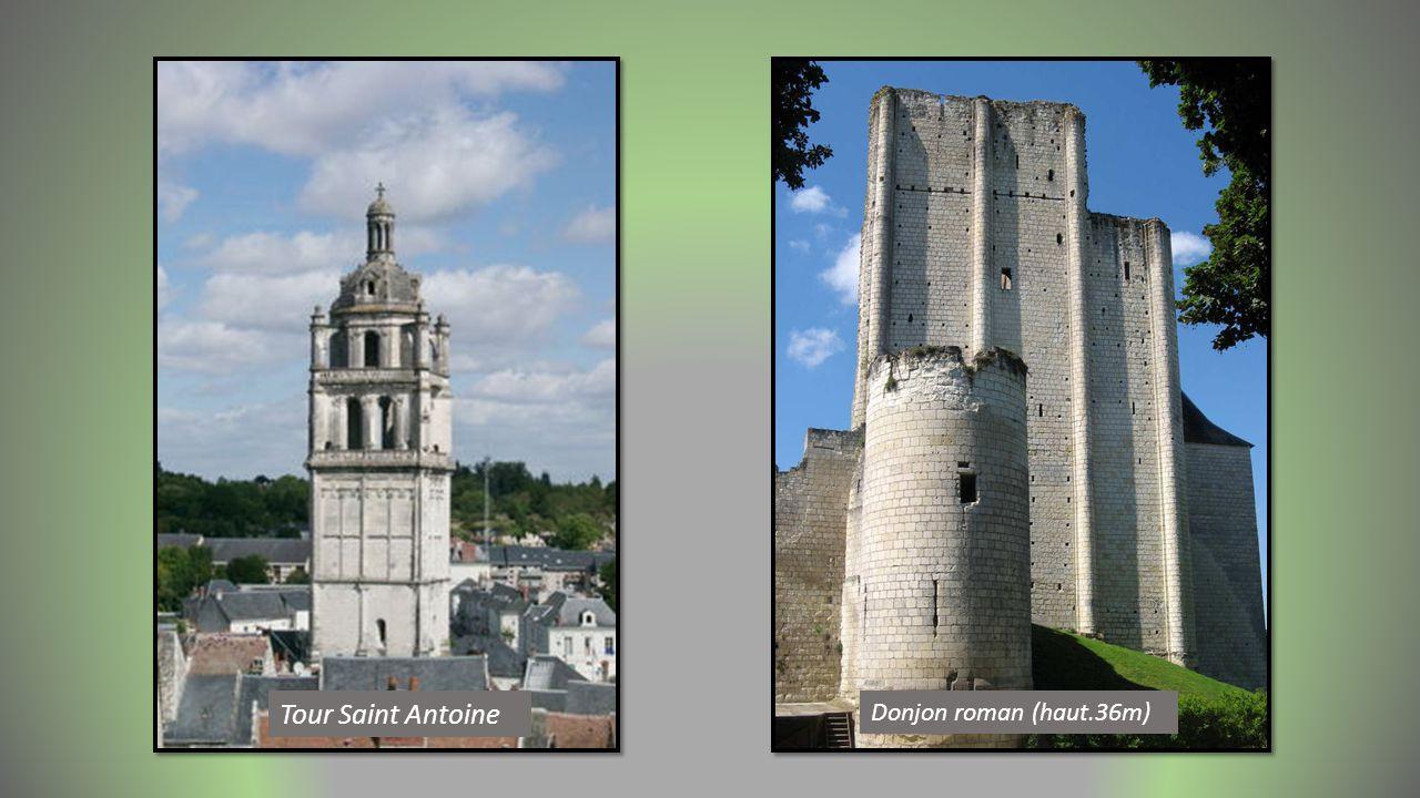 Tour Saint Antoine Donjon roman (haut.36m)