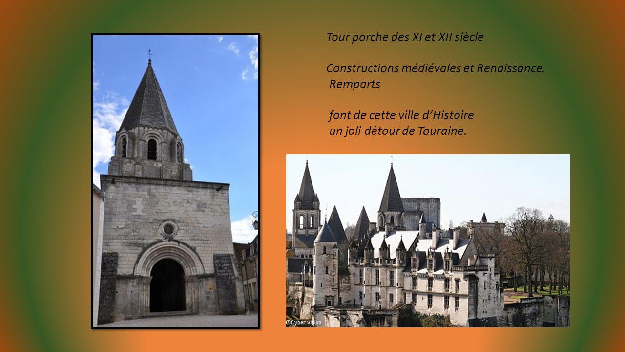 Tour porche des XI et XII siècle