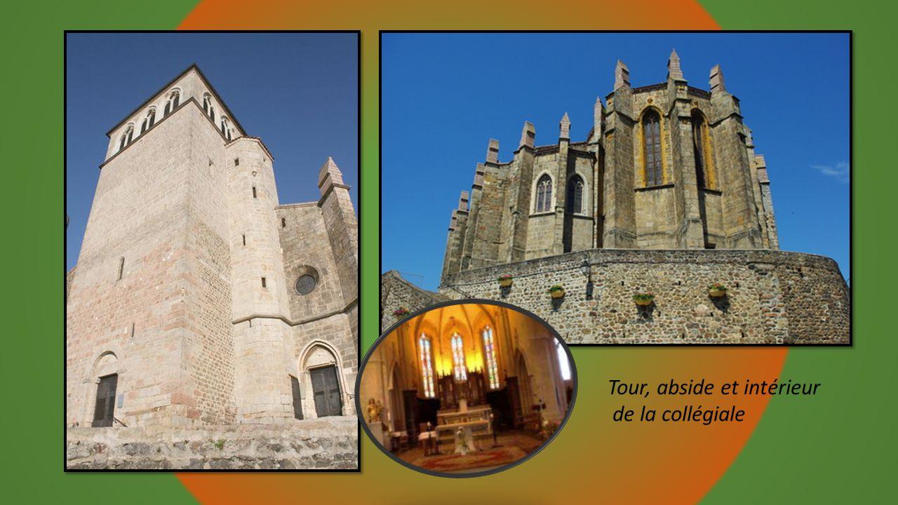 Tour, abside et intérieur