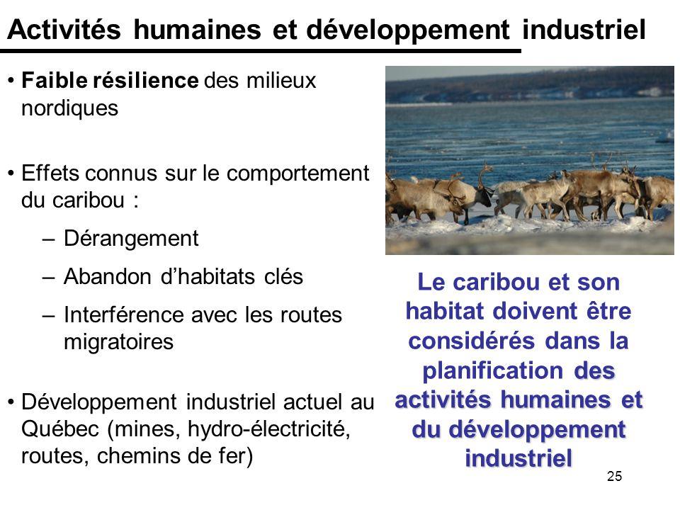 Activités humaines et développement industriel