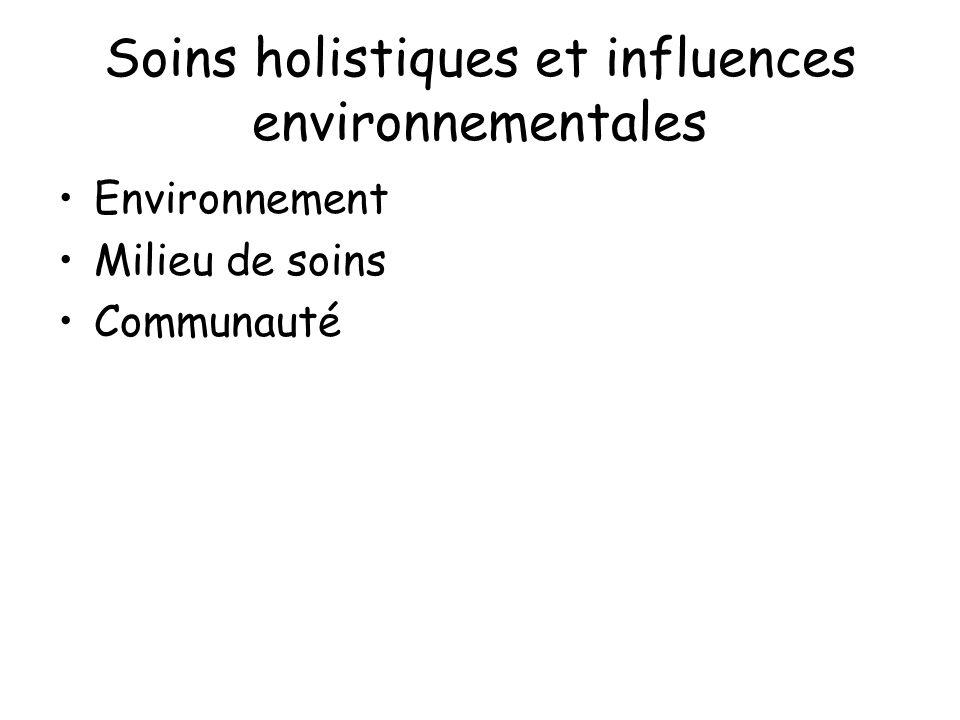 Soins holistiques et influences environnementales