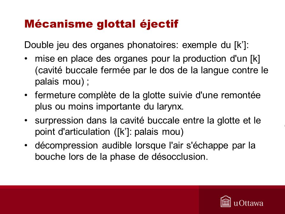 Mécanisme glottal éjectif