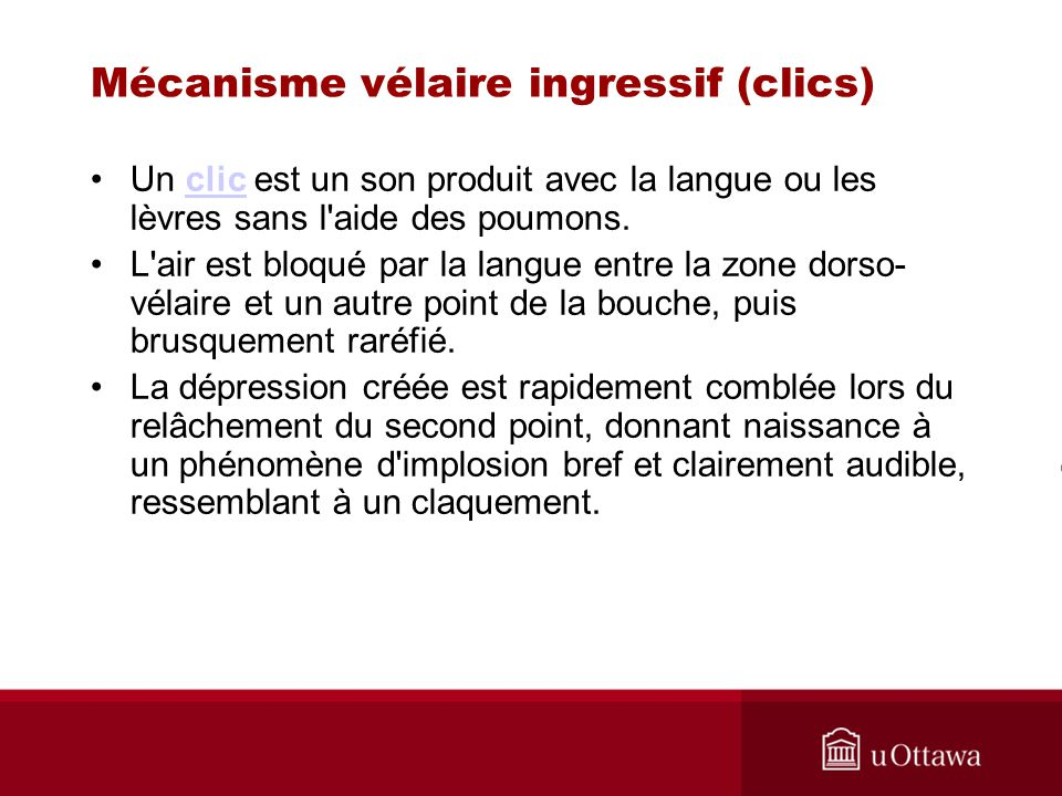 Mécanisme vélaire ingressif (clics)