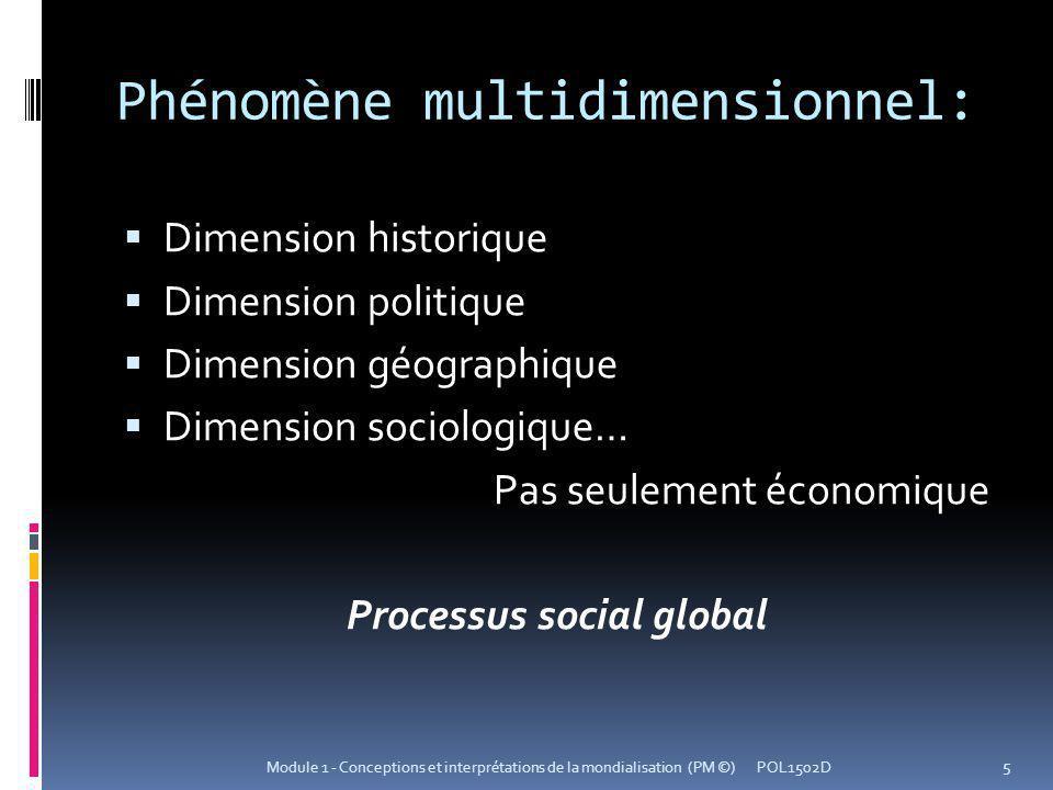 Phénomène multidimensionnel: