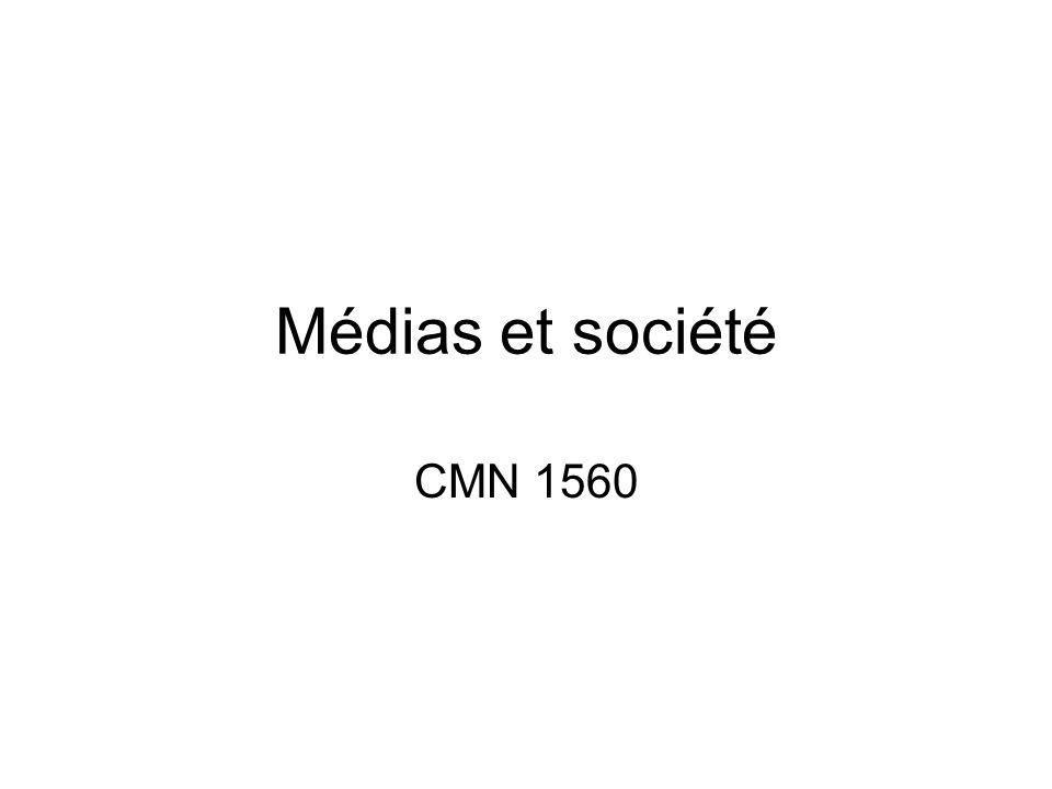Médias et société CMN 1560