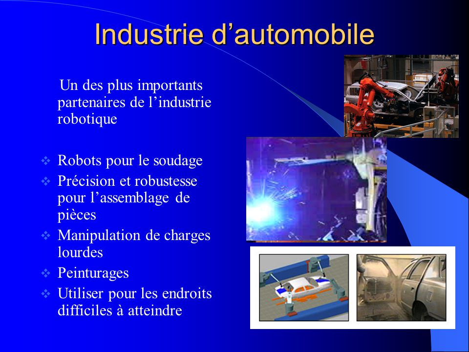 Industrie d'automobile