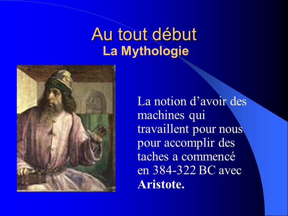 Au tout début La Mythologie
