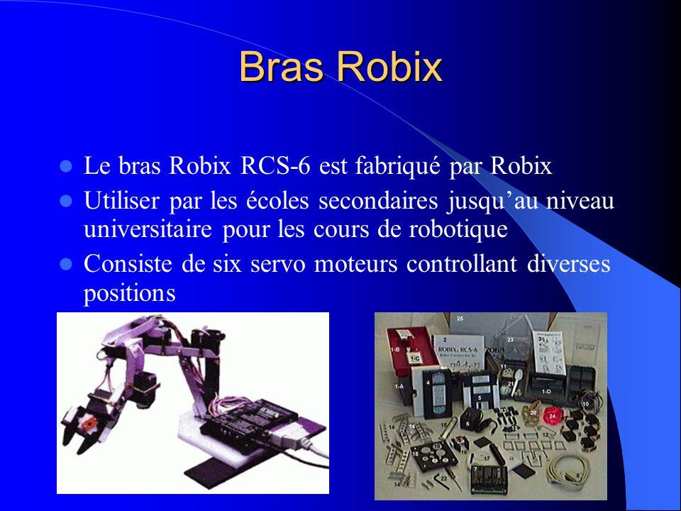 Bras Robix Le bras Robix RCS-6 est fabriqué par Robix