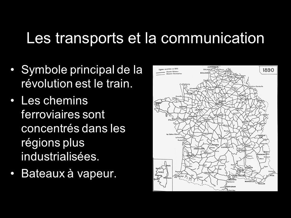 Les transports et la communication