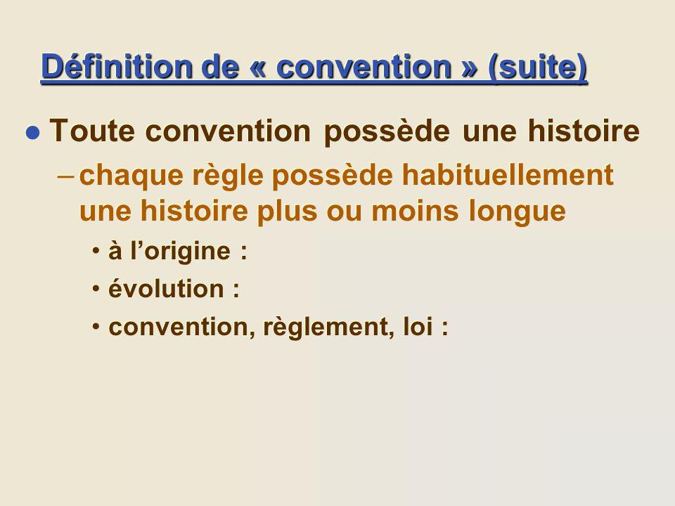 Les conventions ppt t l charger - Definition d une histoire ...
