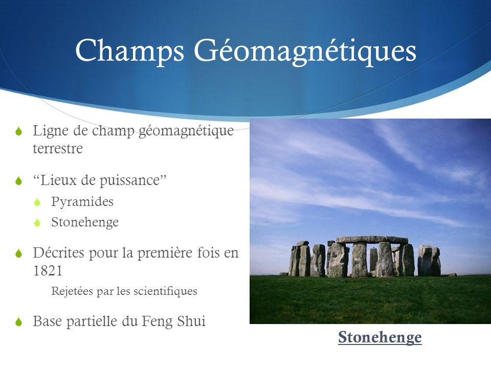 Champs Géomagnétiques